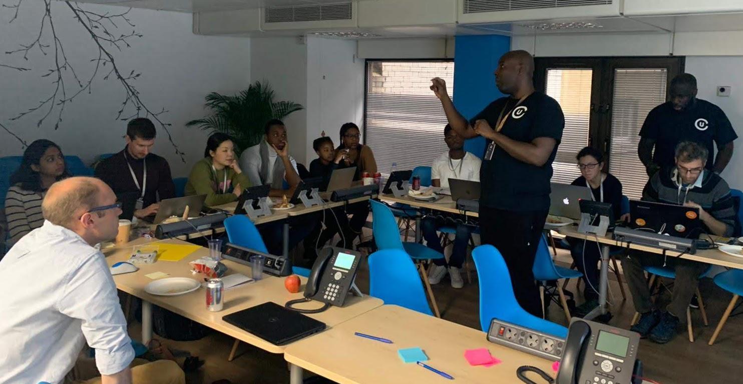 We ran a creative and diverse hackathon with DfE