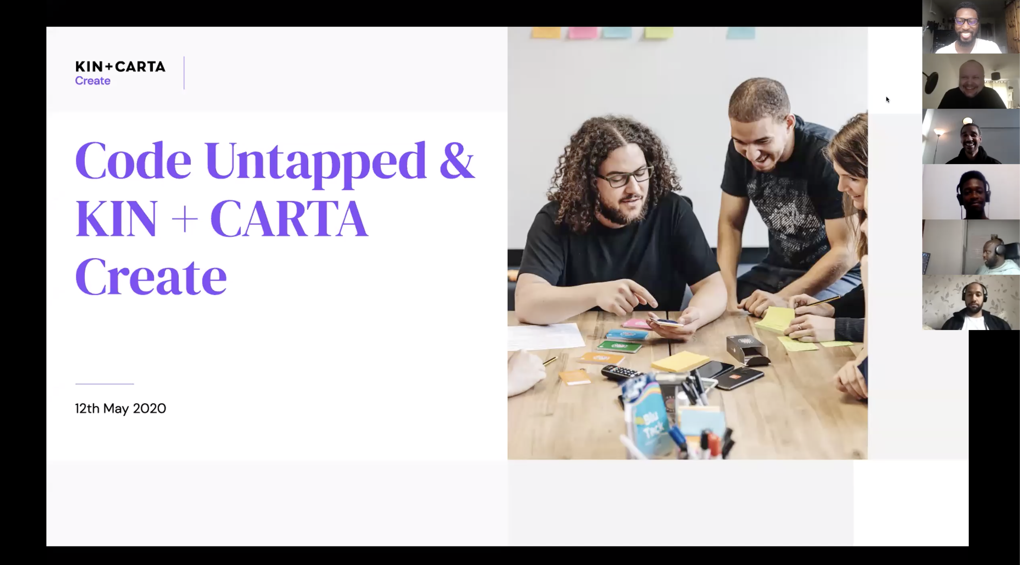 Kin + Carta Create Dart and Flutter Workshop Series with Code Untapped